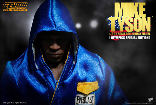 Mike Tyson Olympic Edition 1//6 Scale Exclusive Figure storm collectibles