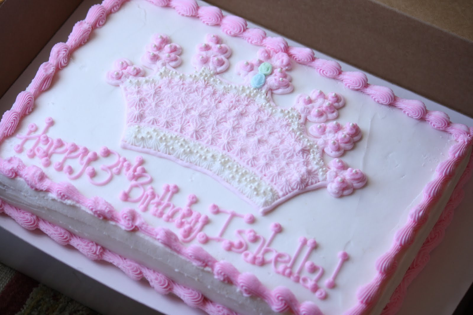 A Perfect Bite Isabellas Princess Cake