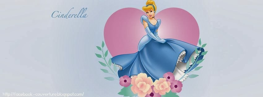 Couverture facebook disney Cindrella