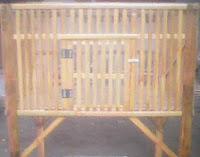kandang ayam bambu 1
