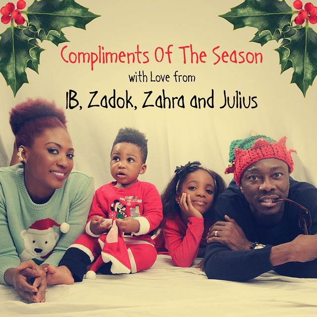 Check Out The Agwu's Christmas Greeting