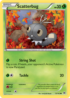 Scatterbug BREAKthrough Pokemon Card