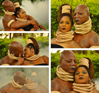 Charly Boy and wife Lady D release beautiful new photos