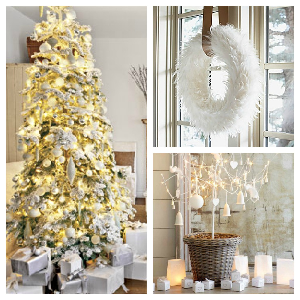 Christmas Tree Color and Decor Schemes - Setting for Four