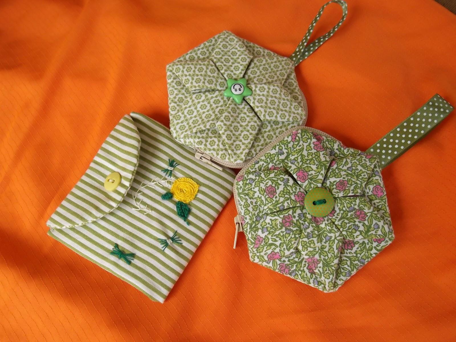 Bolsa Em Origami De Tecido : Reciclando tudo se transforma porta niquel em origami de