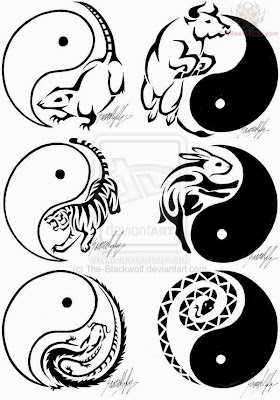 chinese zodiac tattoos designs