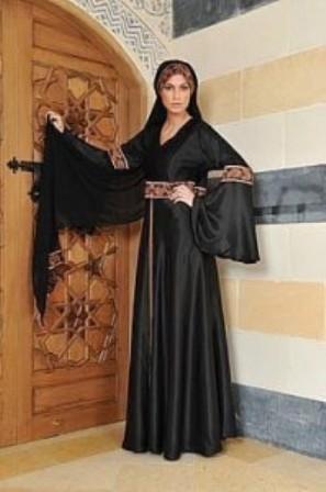 Black-Silk-Abaya