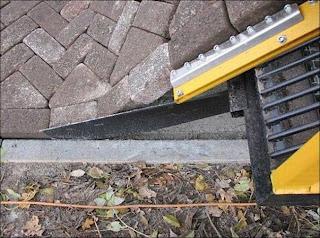 Amazing Brick Machine Rolls Out Roads Like Carpet