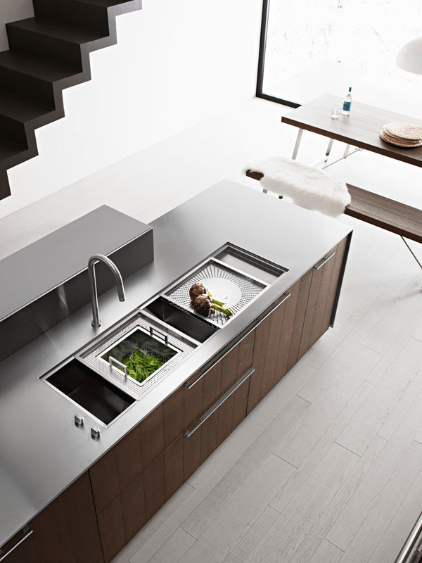 Kalea modern italian kitchen by cesar kitchen interior for Italian kitchen interior design