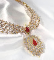 diamond and natural rubies