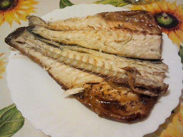 pesce - trota al vino rosso