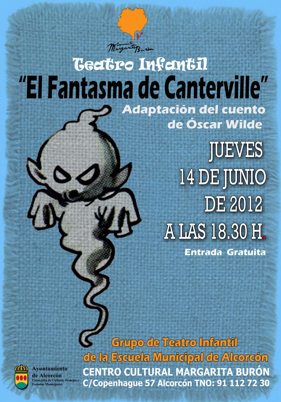 Muestra del curso de teatro infantil el fantasma de canterville centro cultural cooperante - Teatro en alcorcon ...