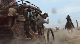 image d'attque de diligence du jeu Red Dead Redemption