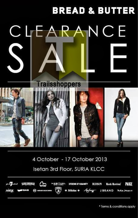 Bread & Butter Clearance Sale 2013