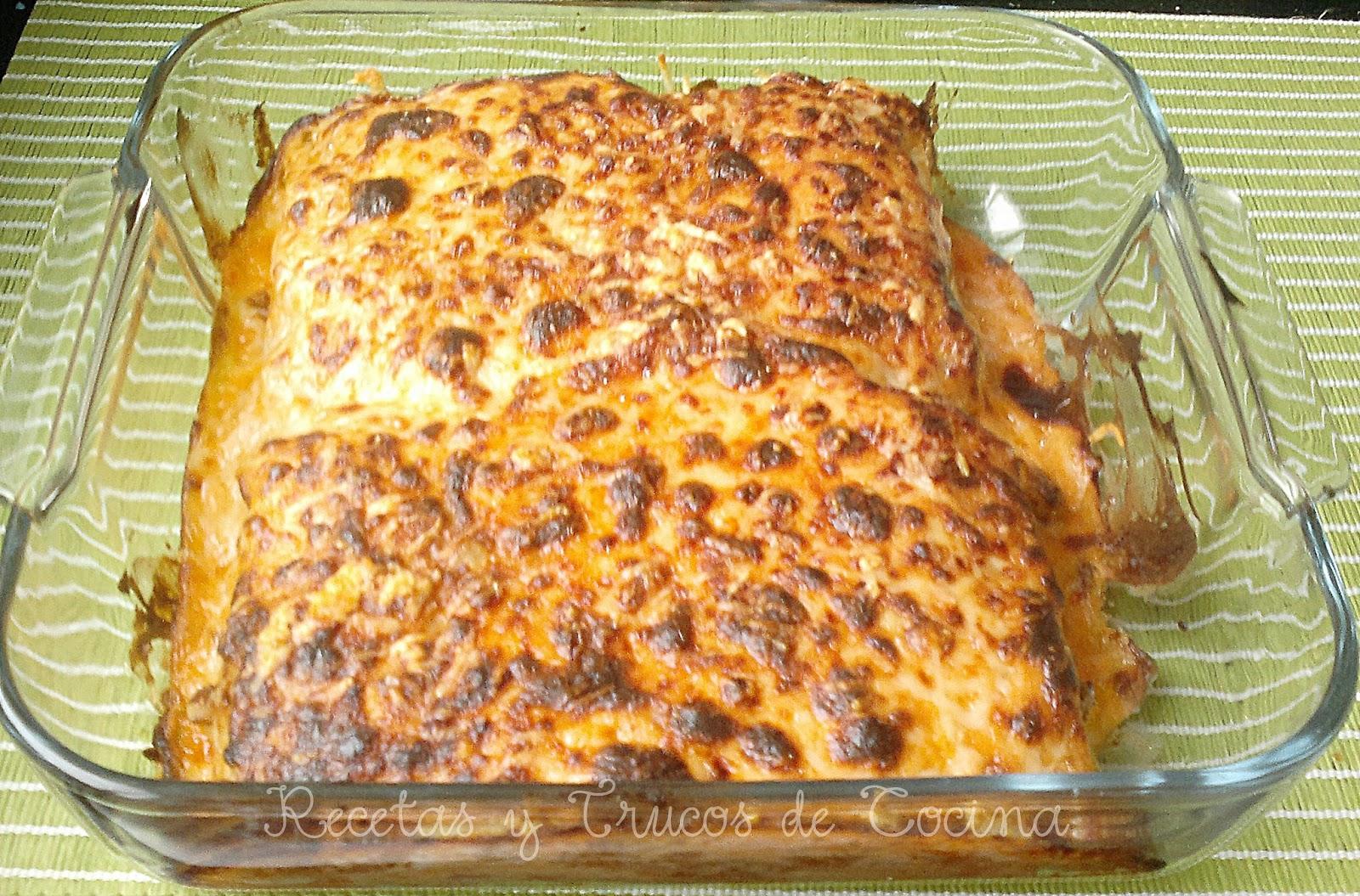 Recetas y trucos de cocina lasa a r pida de carne y salsa - Salsa de tomate y nata ...