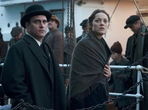 Joaquin Phoenix y Marion Cotillard en The Immigrant