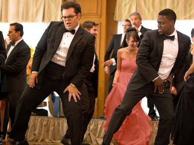 Josh Gad and Kevin Hart in The Wedding Ringer