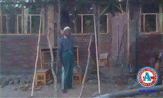 Rogoh Uang Pribadi, Pimpinan Ponpes Nurul Huda Bangun Empat Lokal KBM