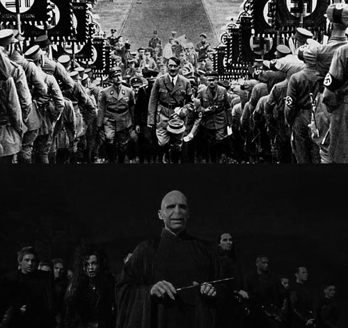 hitler vs voldemort But only if voldemort kills harry the horocrux can be destroyed and protection will be on harrys friends (he died to save them like hes mom) so if you kill harry you basicly ruin the only chance for the world, if you choose to look at it from this point of the story, of course.
