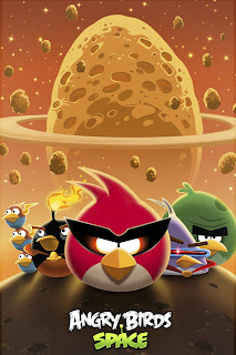 Angry Birds Space iPhone Wallpaper