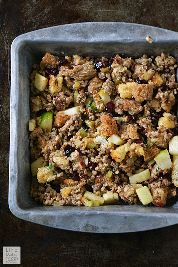 Leftover Thanksgiving Casserole | by Life Tastes Good is a delicious way to use up those holiday leftovers! #LTGrecipes