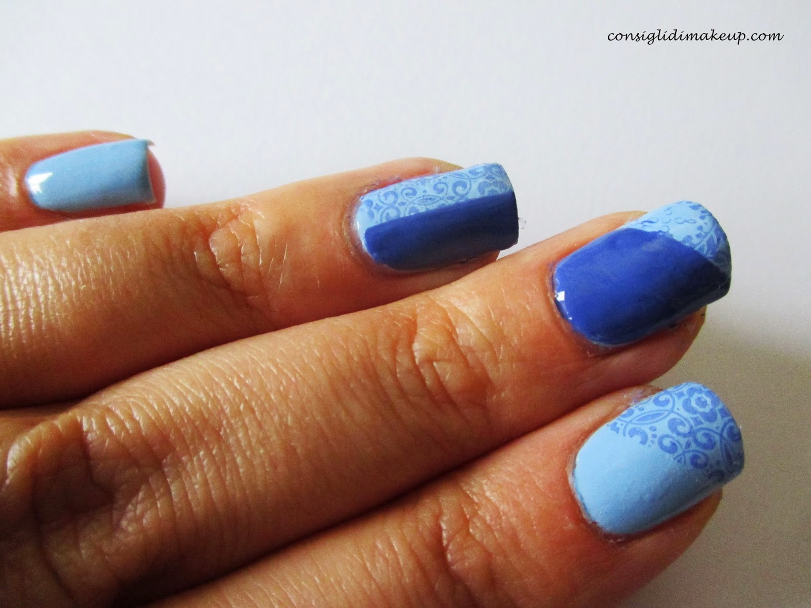 nail art facile stamping tutorial