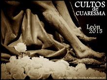 """Cuaresma de León 2015. Cartel deL """"Blog EL SEISE"""""""