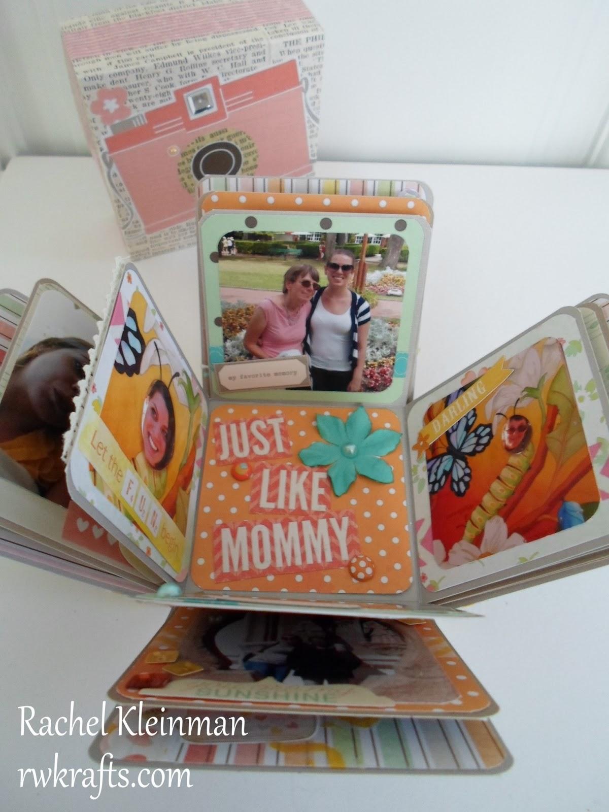 Rwkrafts Mothers Day Explosion Scrapbook Box