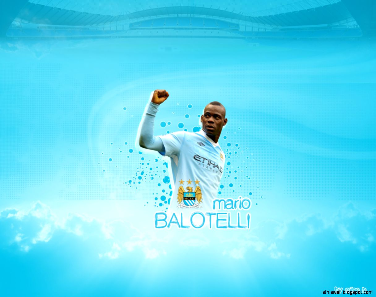 Download Mario Balotelli Manchester City Wallpaper  Full HD