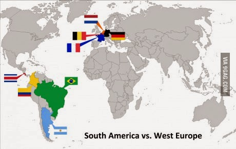 Best of 9gag funny pictures july 2014 in wc 2014 4 teams each form south america namely brazil argentina colombia gumiabroncs Choice Image