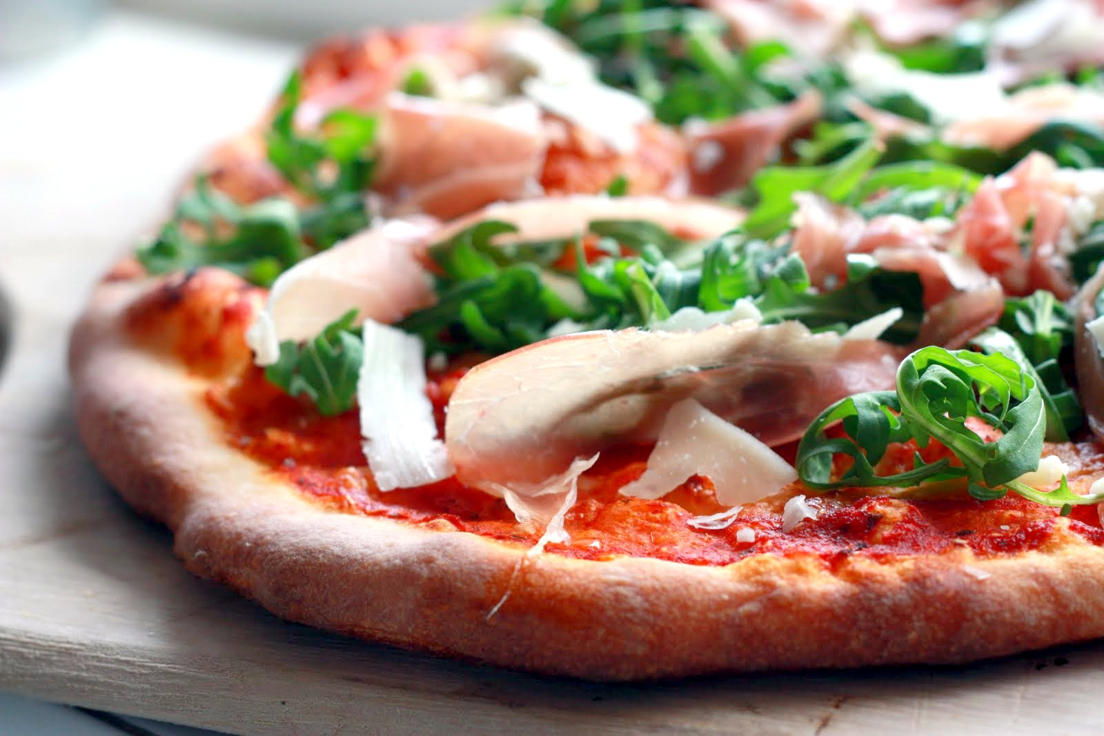 Prosciutto Arugula Prosciutto Arugula Pizza