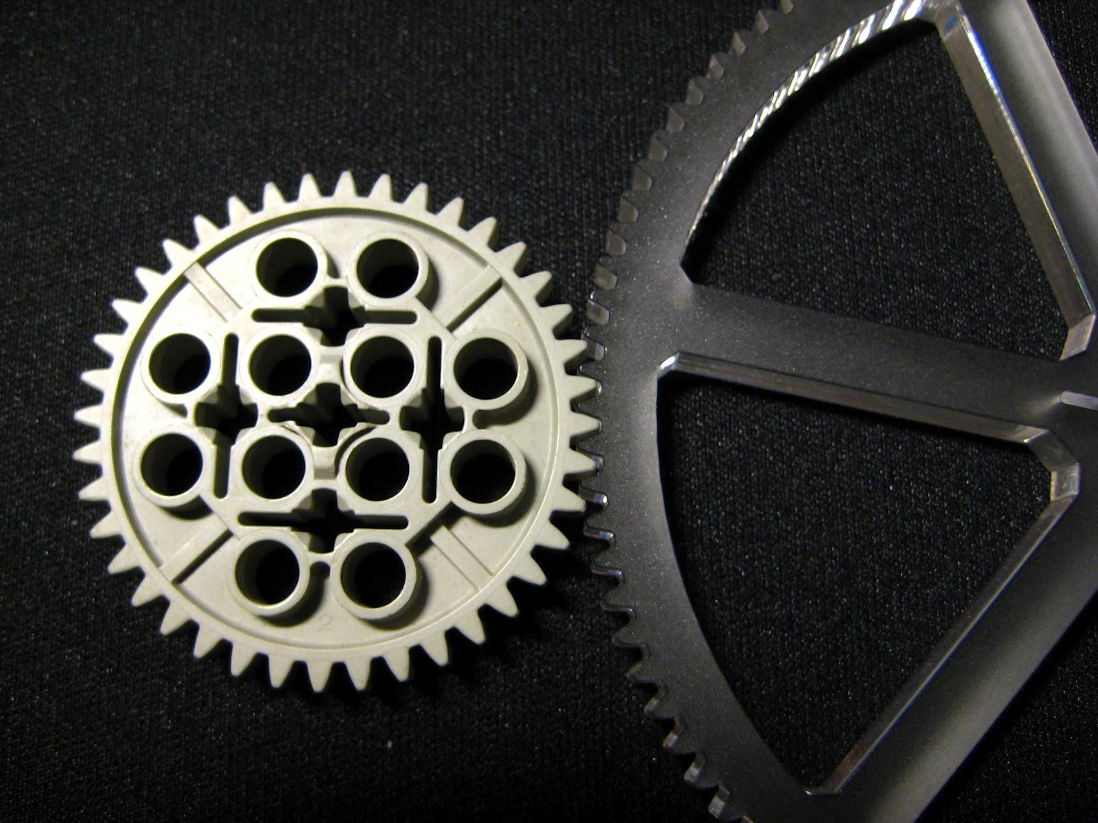 Dzls Evil Genius Lair Laser Cut Lego Compatible Gears