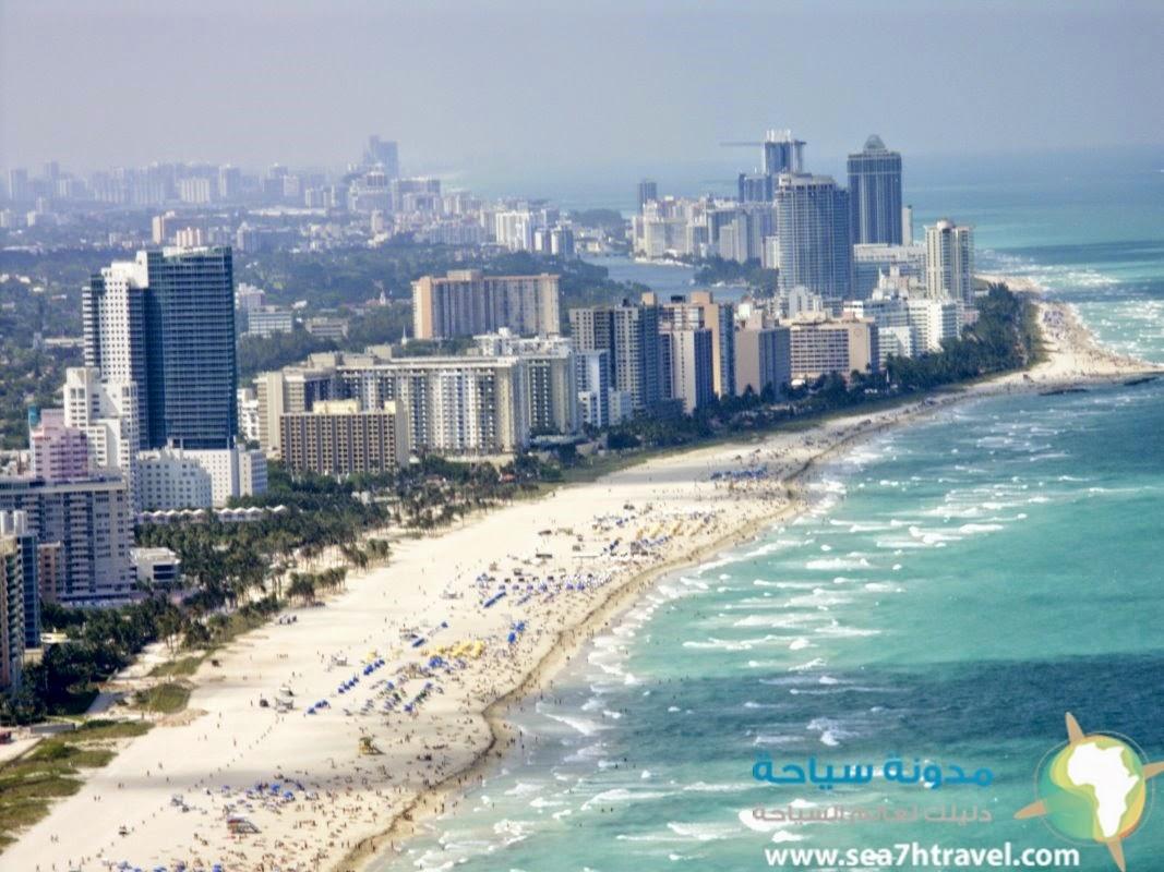 أفضل الشواطئ في الولايات المتحدة الأمريكية