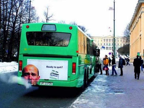 Ready to quit? (Smoking bus)