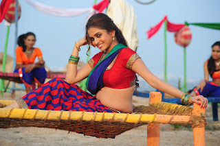 Sheena Shahabadi spicy Red Choli Half Saree Young Beauty Item Song Spicy Pics