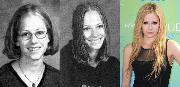 Avril Lavinge  Abril Lavinge antes de ser famosa