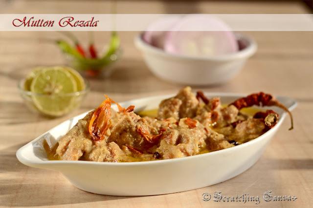 Bengali Mutton Rezala : poila baisakh special