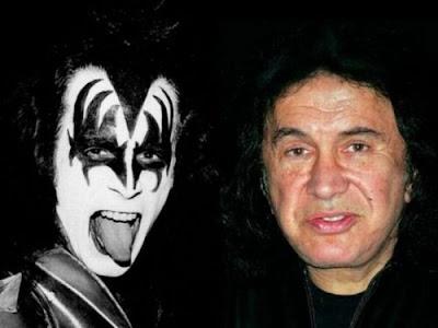 Estrelas do Rock: antes e agora