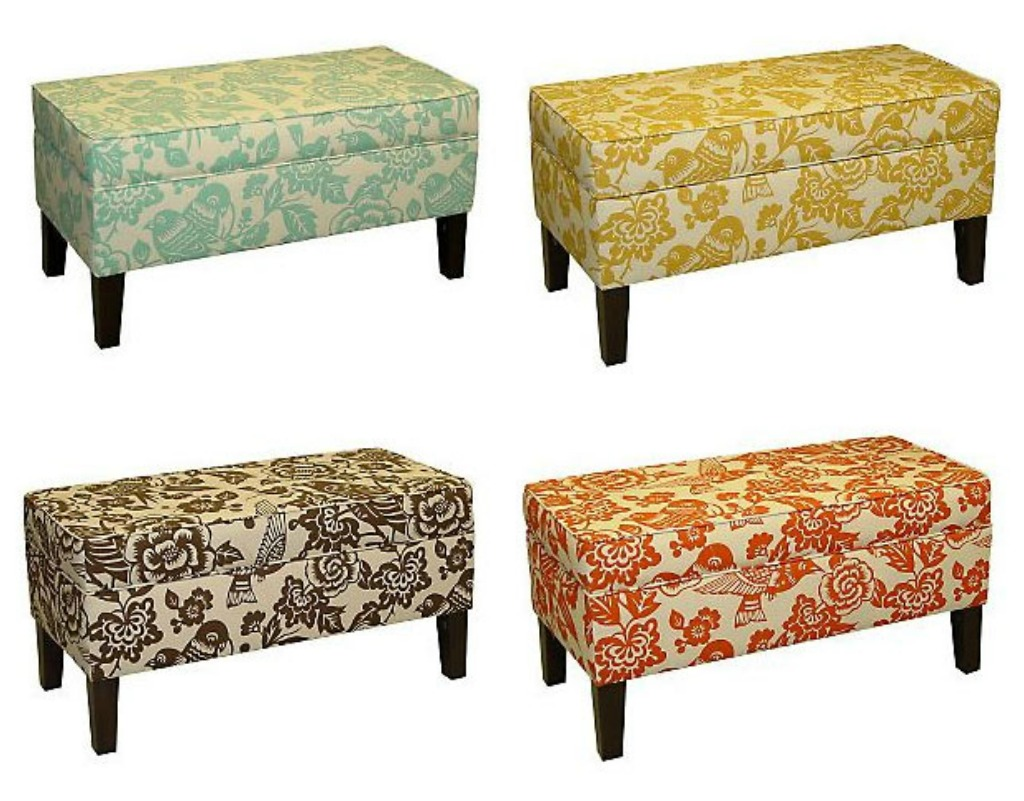 The Modern Sophisticate Thomas Paul Fabric Bench