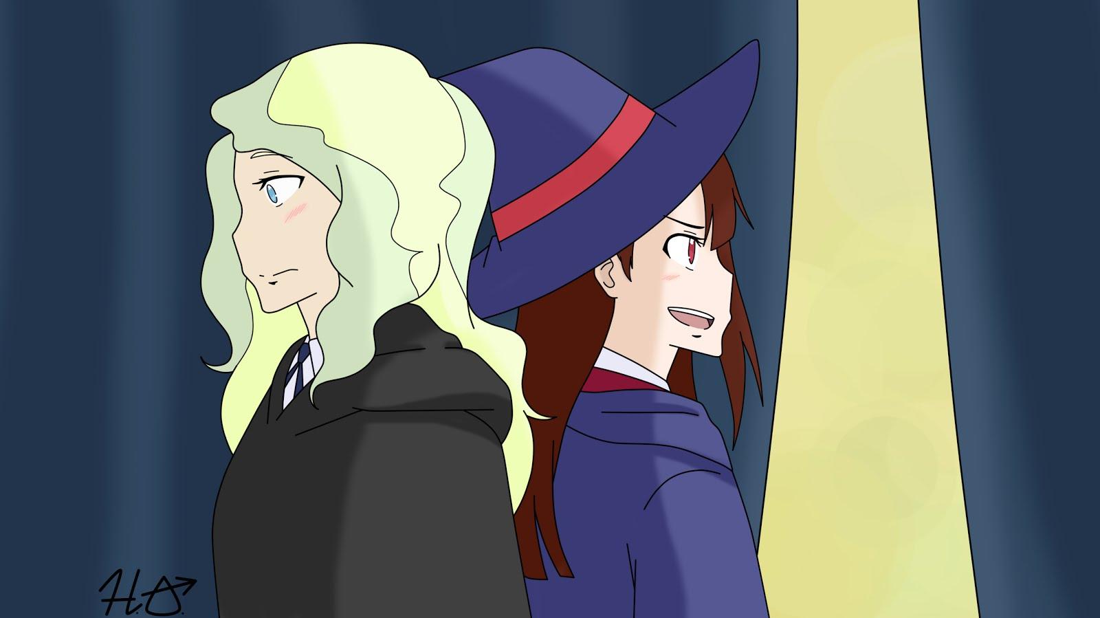 Akko y Diana