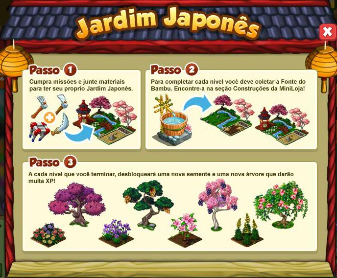 mini jardim oriental:Mini Fazenda: Jardim Japonês