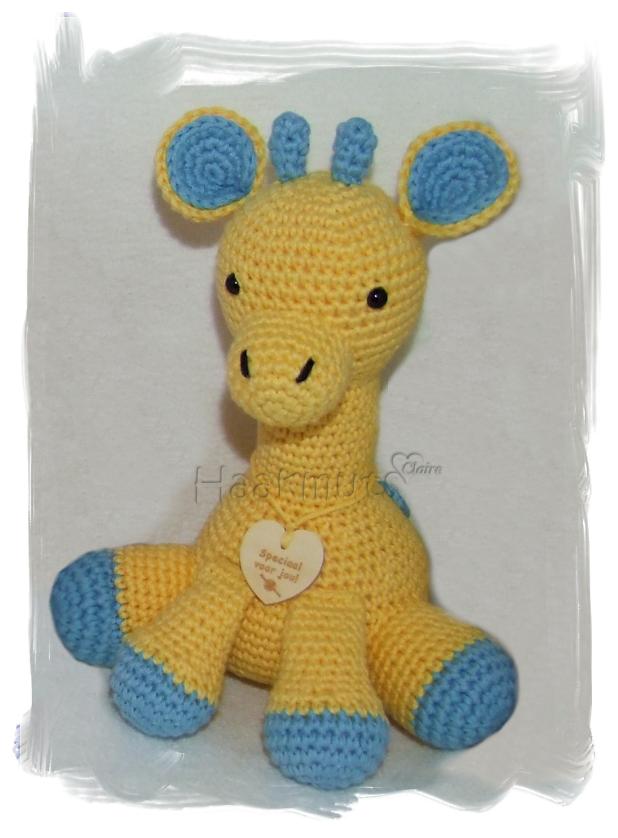Haakmuts: Girafje patroon