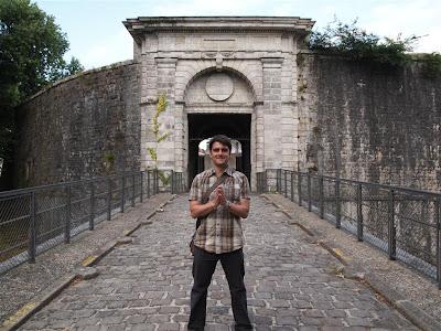 Puerta de España en Bayona