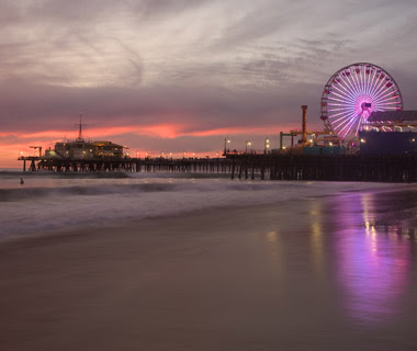 Santa Monica Pier in California