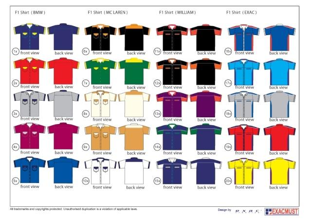 QeuZa Shirt and Design (A02757-V): Baju Korporat RM40
