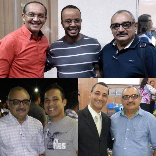 Pastores João Batista, Leonardo Luz. Os meus queridos Fabiano e Fernando