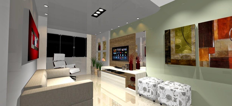 Sala De Estar E Tv Planejada ~ Modelos de Sala de Estar e Jantar com Móveis Planejados Bella Kaza