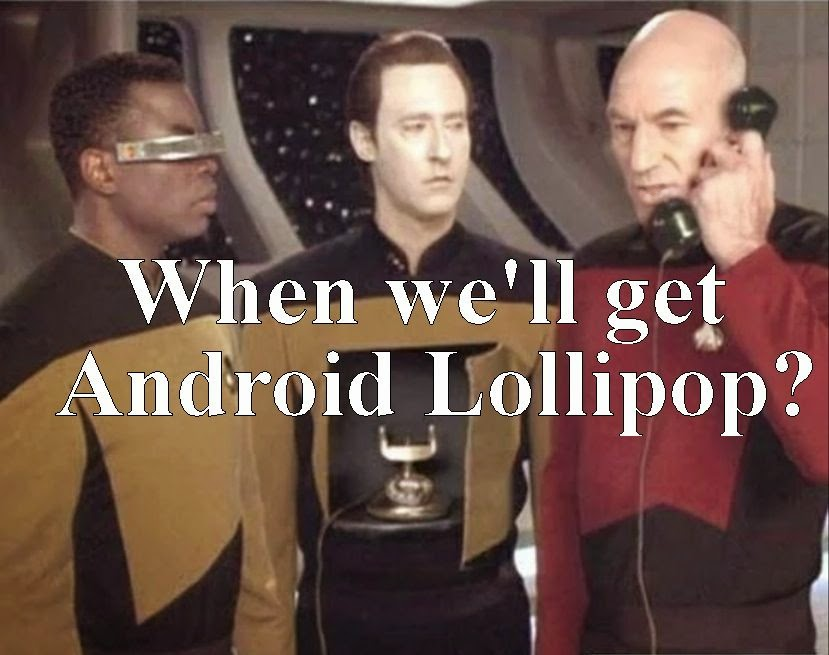When we'll get Android 5.0 Lollipop?