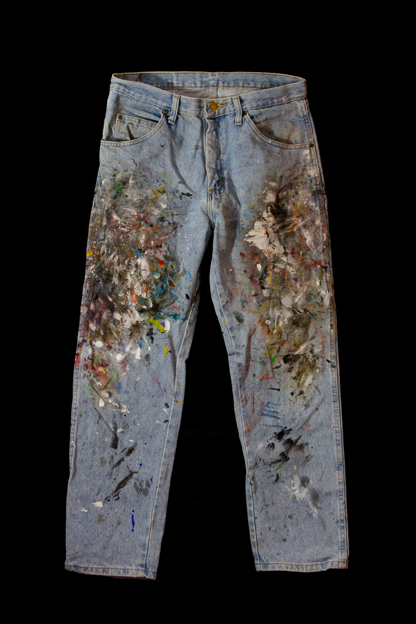 Matthew G. Beall vision driven fine art and photography Art   Painting Jeans    2014