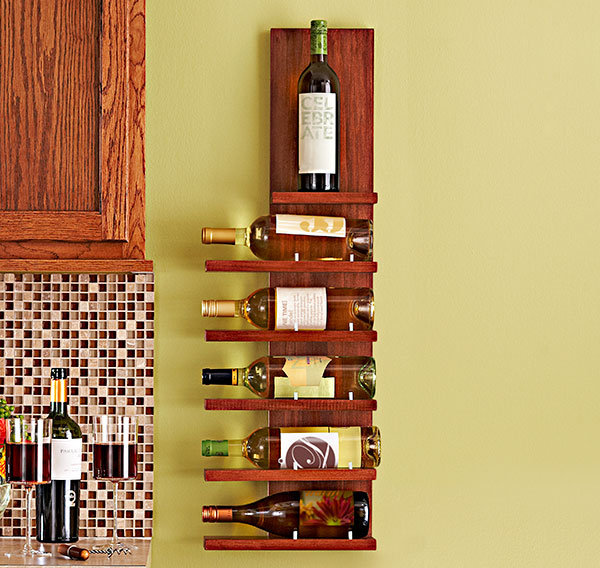 Flippin 39 crazy chic wine rack for How to make a simple wine rack